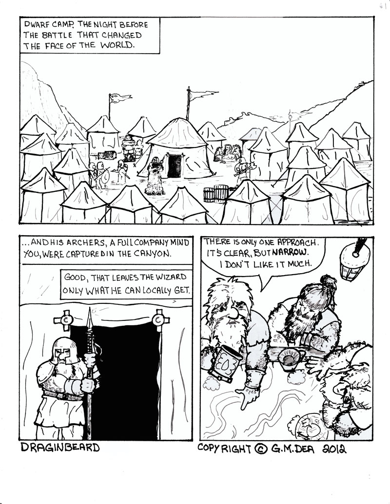 Draginbeard pg 1